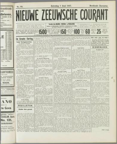 Nieuwe Zeeuwsche Courant 1917-06-02