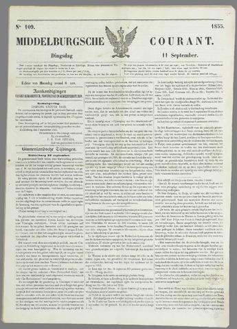 Middelburgsche Courant 1855-09-11