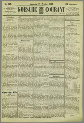 Goessche Courant 1927-10-17