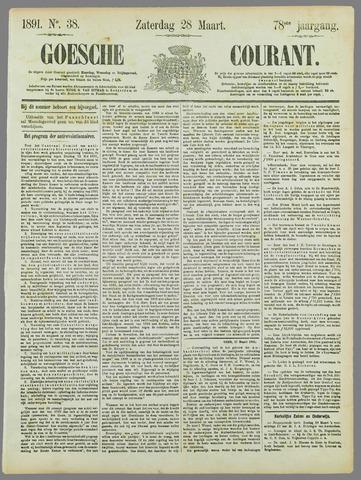 Goessche Courant 1891-03-28
