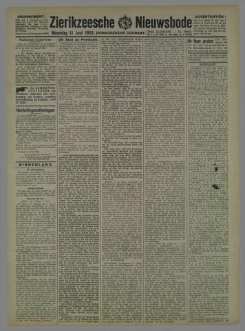 Zierikzeesche Nieuwsbode 1923-06-11