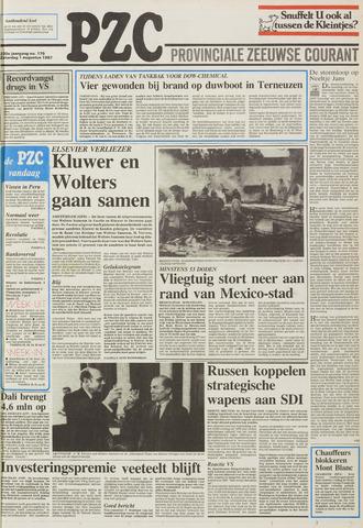 Provinciale Zeeuwse Courant 1987-08-01