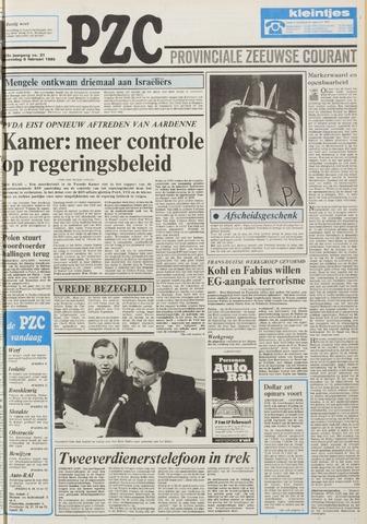 Provinciale Zeeuwse Courant 1985-02-06