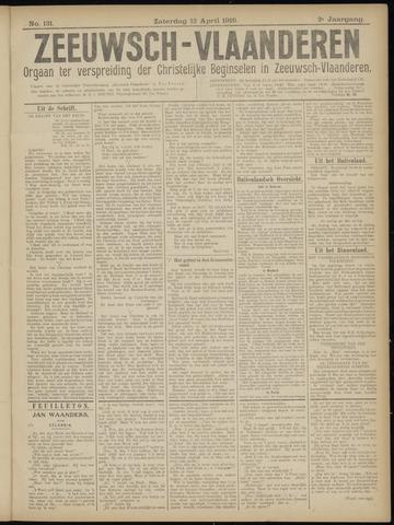 Luctor et Emergo. Antirevolutionair nieuws- en advertentieblad voor Zeeland / Zeeuwsch-Vlaanderen. Orgaan ter verspreiding van de christelijke beginselen in Zeeuwsch-Vlaanderen 1919-04-12