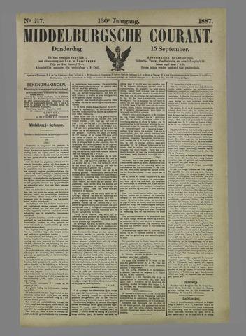 Middelburgsche Courant 1887-09-15