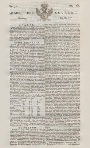 Middelburgsche Courant 1761-05-16