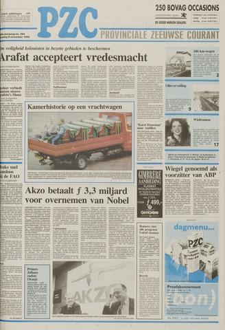 Provinciale Zeeuwse Courant 1993-11-09