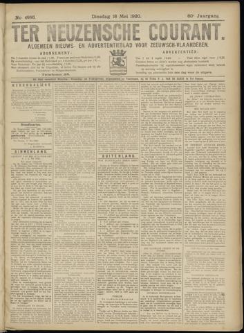 Ter Neuzensche Courant. Algemeen Nieuws- en Advertentieblad voor Zeeuwsch-Vlaanderen / Neuzensche Courant ... (idem) / (Algemeen) nieuws en advertentieblad voor Zeeuwsch-Vlaanderen 1920-05-18