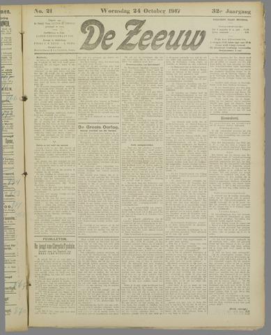 De Zeeuw. Christelijk-historisch nieuwsblad voor Zeeland 1917-10-24