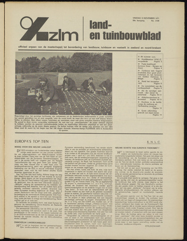 Zeeuwsch landbouwblad ... ZLM land- en tuinbouwblad 1971-11-12