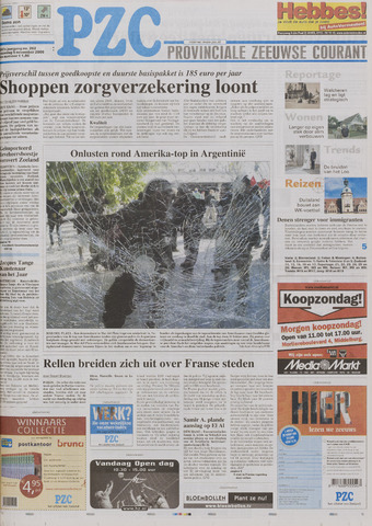 Provinciale Zeeuwse Courant 2005-11-06