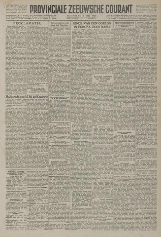Provinciale Zeeuwse Courant 1945-05-07