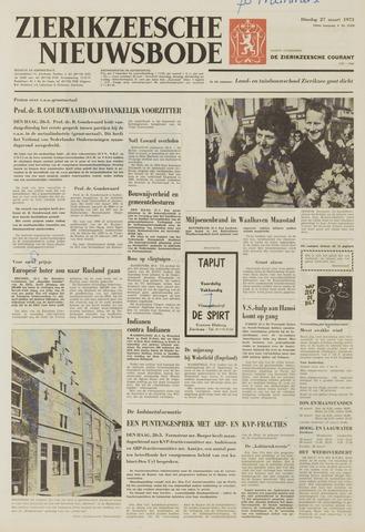 Zierikzeesche Nieuwsbode 1973-03-27