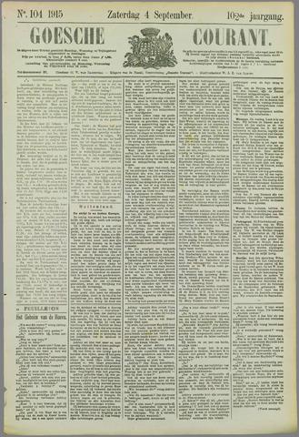 Goessche Courant 1915-09-04