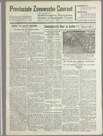 Provinciale Zeeuwse Courant 1940-07-17