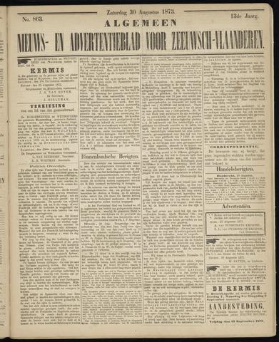 Ter Neuzensche Courant. Algemeen Nieuws- en Advertentieblad voor Zeeuwsch-Vlaanderen / Neuzensche Courant ... (idem) / (Algemeen) nieuws en advertentieblad voor Zeeuwsch-Vlaanderen 1873-08-30