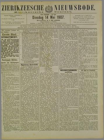 Zierikzeesche Nieuwsbode 1907-05-14