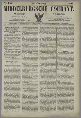 Middelburgsche Courant 1888-08-08