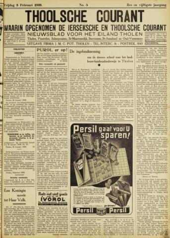 Ierseksche en Thoolsche Courant 1939-02-03