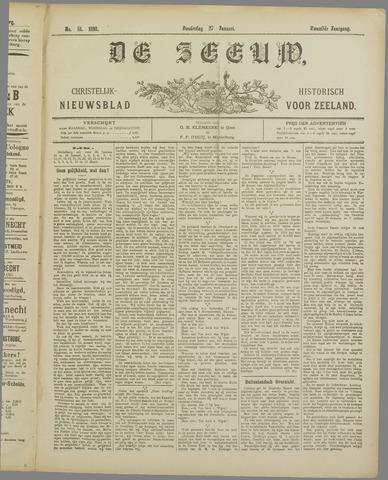 De Zeeuw. Christelijk-historisch nieuwsblad voor Zeeland 1898-01-27
