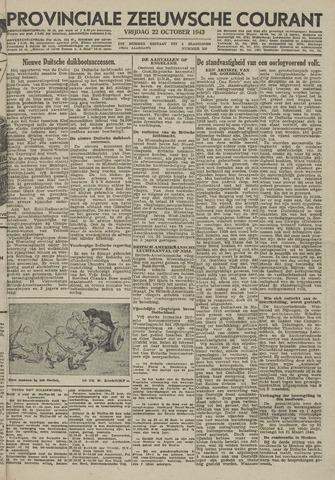 Provinciale Zeeuwse Courant 1943-10-22
