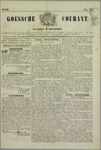 Goessche Courant 1853-12-05