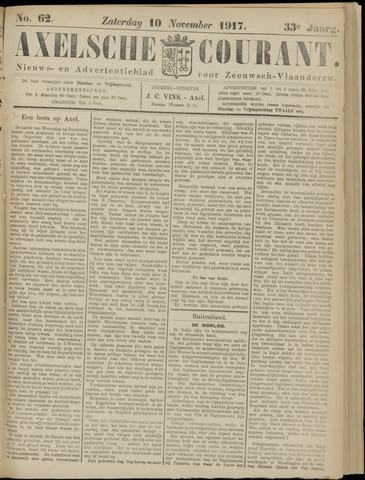 Axelsche Courant 1917-11-10