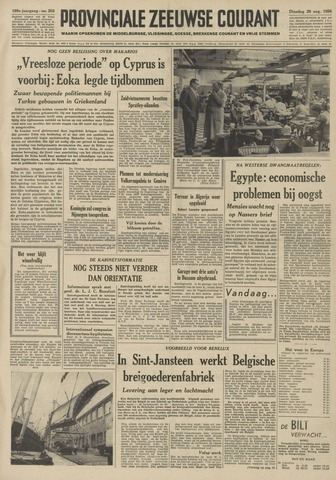 Provinciale Zeeuwse Courant 1956-08-28