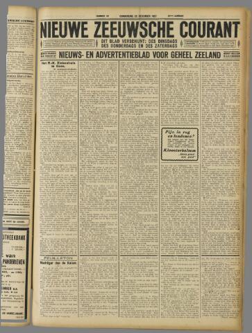 Nieuwe Zeeuwsche Courant 1927-12-22