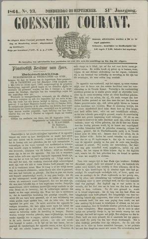 Goessche Courant 1864-09-22
