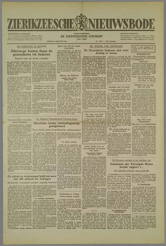 Zierikzeesche Nieuwsbode 1952-02-05