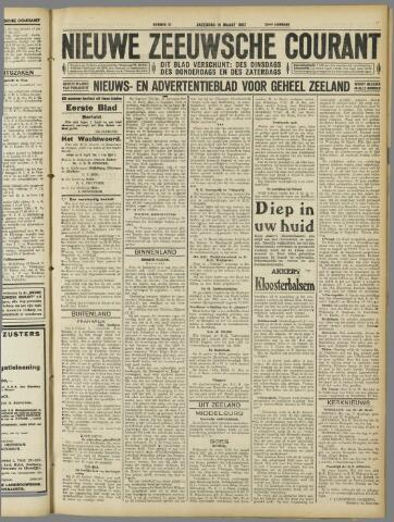 Nieuwe Zeeuwsche Courant 1927-03-19