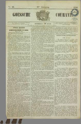 Goessche Courant 1856-07-24