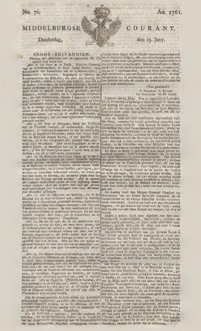 Middelburgsche Courant 1761-06-25