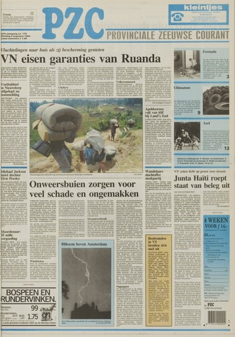 Provinciale Zeeuwse Courant 1994-08-02