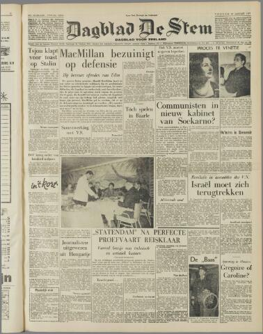 de Stem 1957-01-18