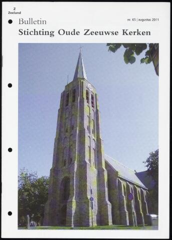 Bulletin Stichting Oude Zeeuwse kerken 2011-08-01