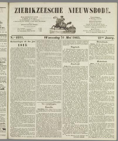 Zierikzeesche Nieuwsbode 1865-05-31
