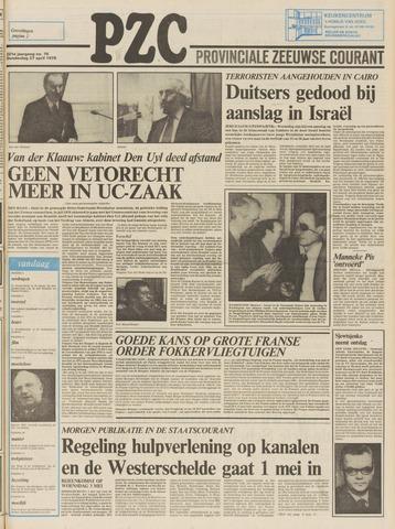 Provinciale Zeeuwse Courant 1978-04-27