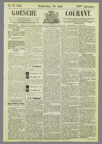 Goessche Courant 1913-06-26