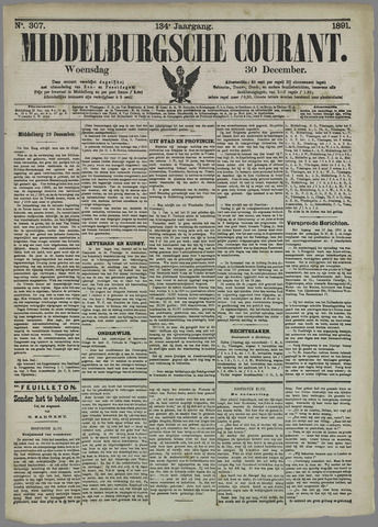Middelburgsche Courant 1891-12-30