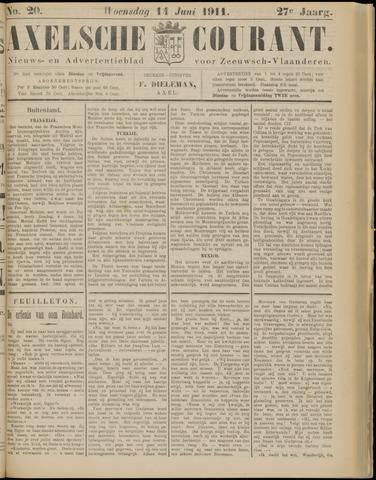 Axelsche Courant 1911-06-14
