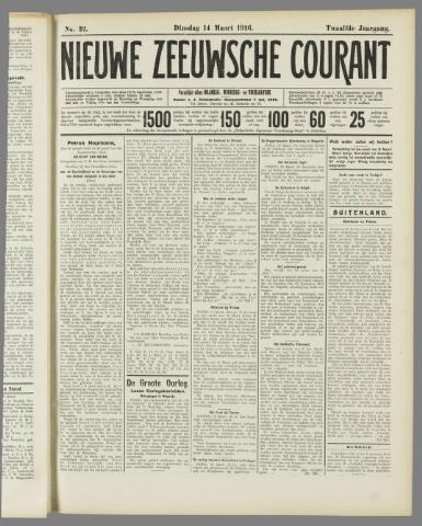 Nieuwe Zeeuwsche Courant 1916-03-14
