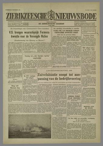 Zierikzeesche Nieuwsbode 1958-09-18