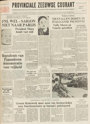 Provinciale Zeeuwse Courant 1968-11-04