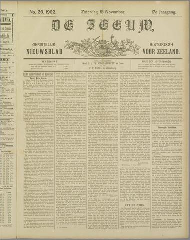 De Zeeuw. Christelijk-historisch nieuwsblad voor Zeeland 1902-11-15