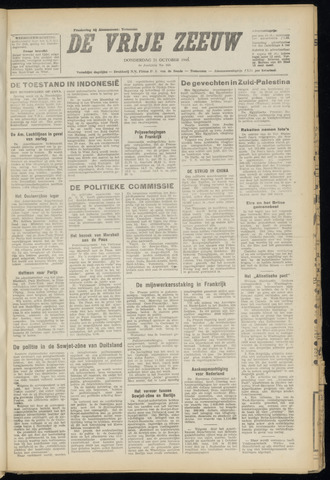 de Vrije Zeeuw 1948-10-21