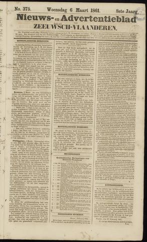 Ter Neuzensche Courant. Algemeen Nieuws- en Advertentieblad voor Zeeuwsch-Vlaanderen / Neuzensche Courant ... (idem) / (Algemeen) nieuws en advertentieblad voor Zeeuwsch-Vlaanderen 1861-03-06