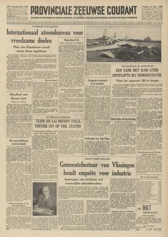 Provinciale Zeeuwse Courant 1954-09-24