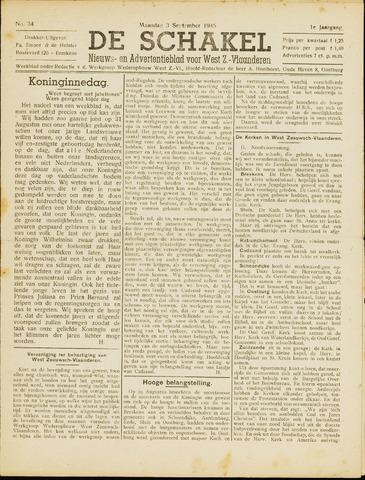 De Schakel 1945-09-03
